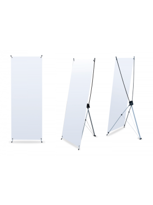 X-Banner 80x180 - 800mm X 1800mm (c/ lona)