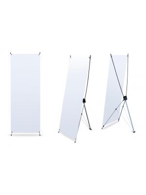 X-Banner 60x160 - 600mm X 1600mm  (c/ lona)