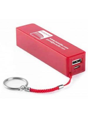 Power Bank Euedito - Bateria auxiliar. 1200 mAh. Cabo incluído.