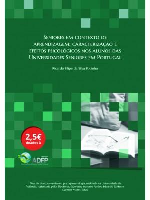 Tese de Doutoramento - Seniores em contexto de aprendizagem: caracterização e efeitos psicológicos nos alunos das Universidades Seniores em Portugal